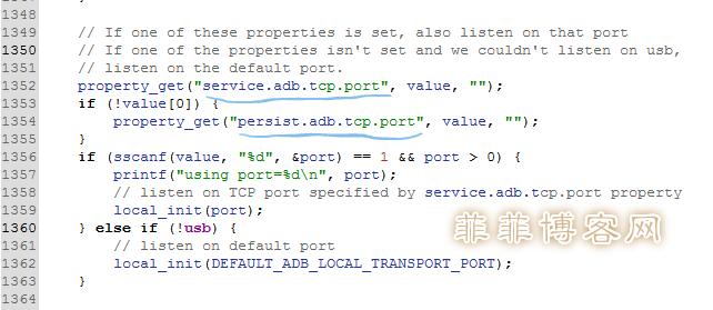 /sbin/adbd二进制文件的c++源码